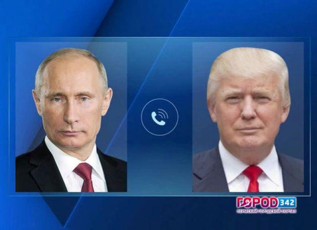 Дональд Трамп иВладимир Путин обсудили Сирию вовремя часового телефонного звонка