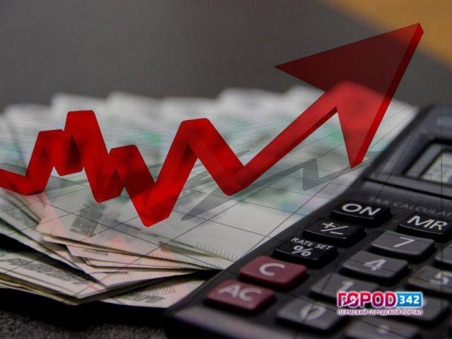 Заработная плата вПрикамье загод увеличилась на7%