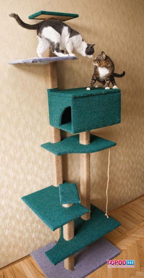 Дом для кошки 4