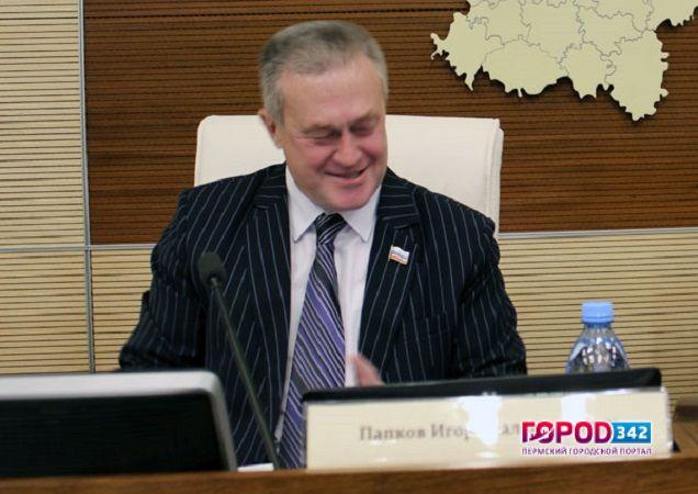 Адмирал Комоедов занял пост вице-спикера Законодательного собрания Пермского края