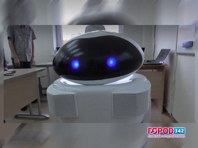 Вказанском лицее 1-ый в Российской Федерации робот-учитель провел урок