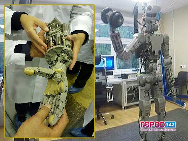 FEDOR – первый робот-космонавт созданный в России