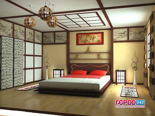 Дизайн комнаты китайском стиле