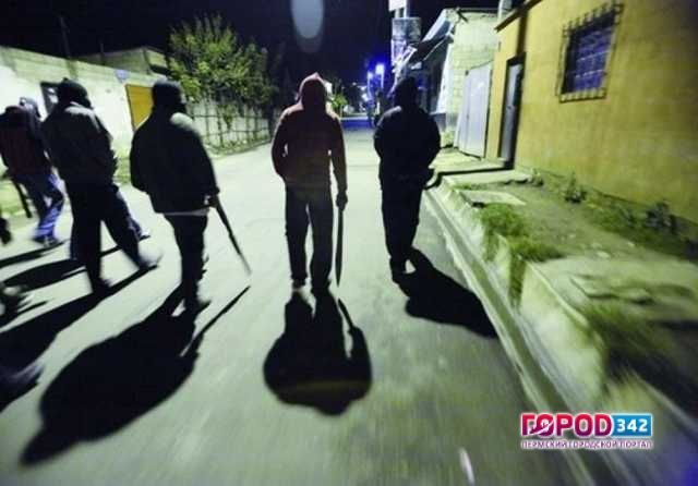 Банда молодых людей терроризировала граждан города вПрикамье
