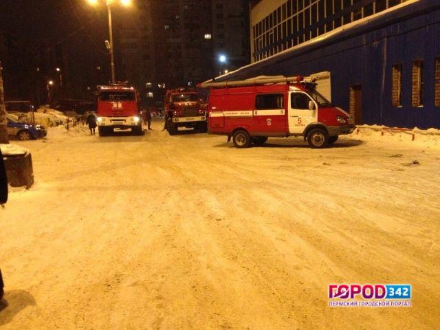 ВПерми произошел пожар вмногоэтажном здании бассейна «БМ»