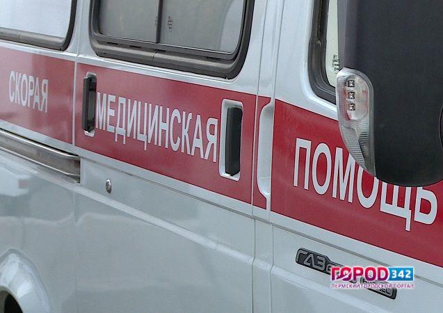 ВПрикамье пассажир иномарки умер встолкновении страктором
