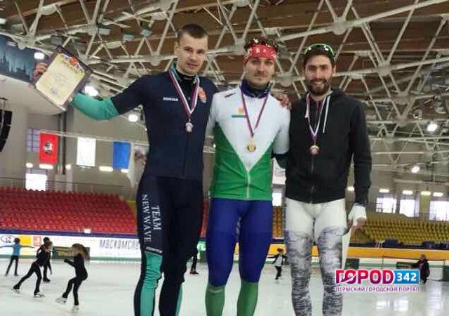 Пермяк взял «золото» и«серебро» наэтапе Кубка Российской Федерации поконькобежному спорту