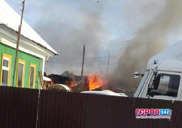 Два трупа найдены напепелище жилого дома вгороде Нытва Пермского края