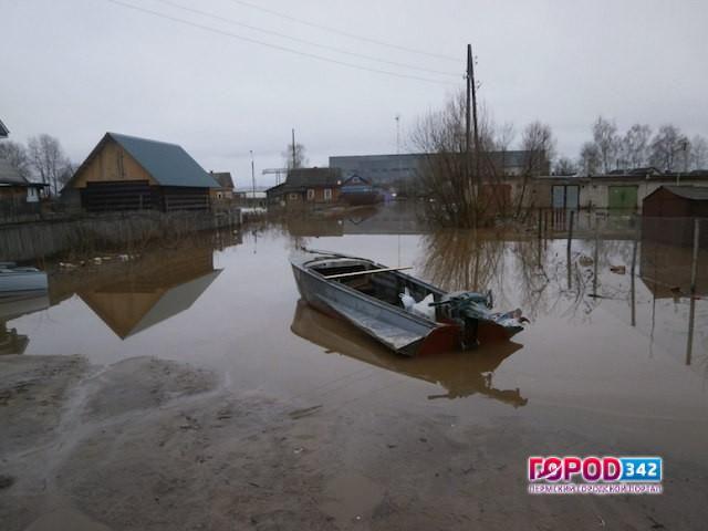 ВПрикамье 110 населенных пунктов под угрозой подтопления