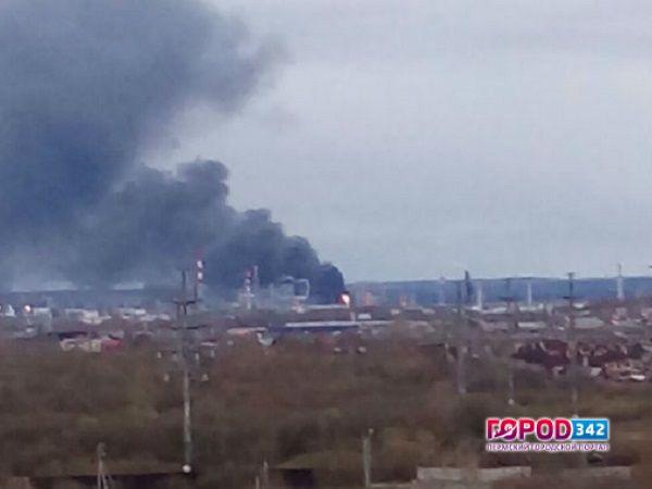 МЧС локализовало пожар наобъекте «Лукойла» вПерми